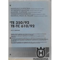 HUSQVARNA TE 350 / 1992 + TE-TC 610 / 1992 (additif)