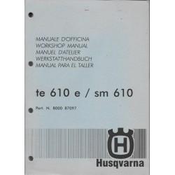 HUSQVARNA TE 610 e / SM 510 / 610 de 1999