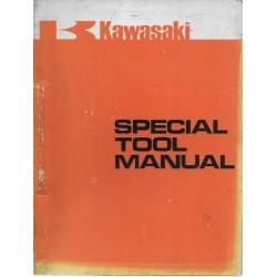 Catalogue outillage spécialisé Motos KAWASAKI 1974