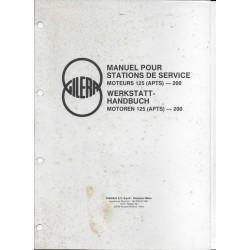 GILERA manuel atelier 125 / 200 (APTS) de avril 1988