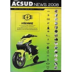 """Catalogue ACSUD 'La Bécanerie"""" 2008/ 2009"""