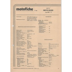MOTO-GUZZI 850 T3 de 1980 et plus
