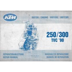 KTM 250 / 300 TVC 1990(Manuel de Réparation 01 / 1990)