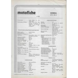HONDA MTX 125 R de 1984 et plus