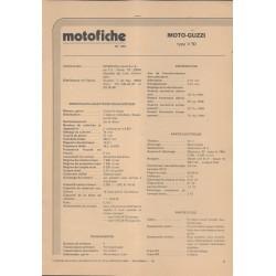 MOTO GUZZI V 50 de 1977 et plus