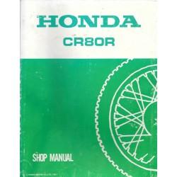 HONDA CR 80 R 1988 Manuel de base novembre 1987