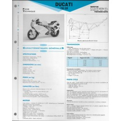 DUCATI 750 SS de 1991 Fiche RMT