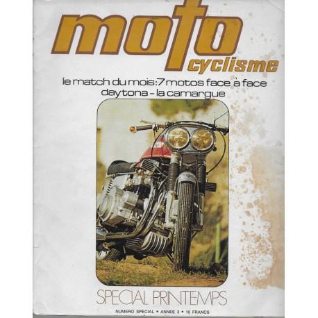MOTOCYCLISMESpécial Printemps Année 3