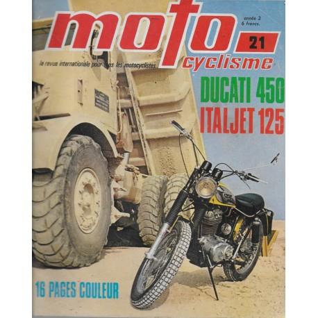 MOTOCYCLISME n° 21 (novembre1970)