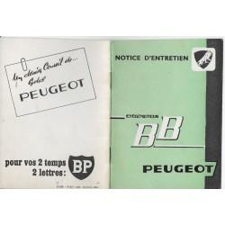PEUGEOT BB (manuel utilisateur 10 / 1962)