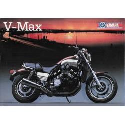 Prospectus original V-Max (1986)