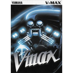 Prospectus original YAMAHA V-Max (1996)