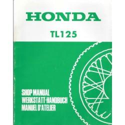 HONDA TL 125 1989 (Additif) j