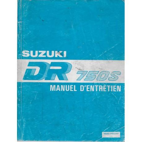 Manuel atelier SUZUKI DR 750 / 800 S de 1988 à 1991 (05 / 91)