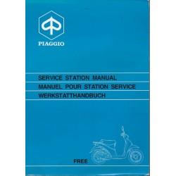 PIAGGIO FREE 50 cc 2 temps (manuel atelier 01 / 1993)