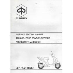 PIAGGIO ZIP Fast Rider 50cc (manuel atelier additif 02 / 1994)