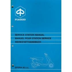 PIAGGIO SFERA - 50 cc (manuel atelier 05 / 1995)