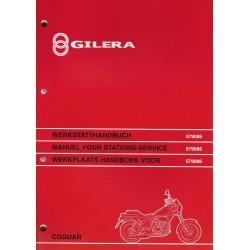 PIAGGIO GILERA 125cc COGUAR ( manuel atelier 05 / 1999)