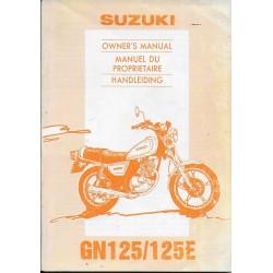 SUZUKI GN 125 N / E modèle 1994 (04 / 1993)