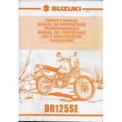 SUZUKI DR 125 SE modèles W, X, Y (09 / 1999)