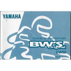 YAMAHA BW'Sr Original Type 4VV de 2000 (06 / 1999)