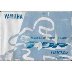 YAMAHA TDR 125 (type 5AE modèle 1997)
