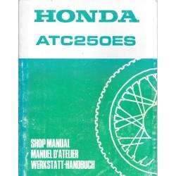 HONDA ATC 250 ES1986