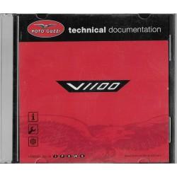 MOTO GUZZI V 1100 (CD-Rom manuel atelier 10 / 2005)