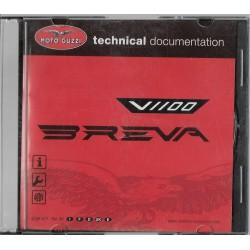 MOTO GUZZI V 1100 Breva (CD-Rom manuel atelier 05 / 2005)