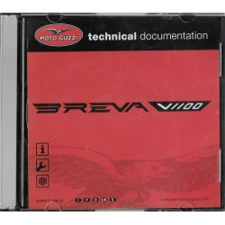 MOTO GUZZI V 1100 Breva (CD-Rom manuel atelier 01 / 2007)