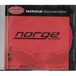 MOTO GUZZI NORGE 1200 (CD-Rom Manuel atelier 01 / 2007)