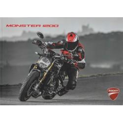 Catalogue original DUCATI MONSTER 1200 (2017)
