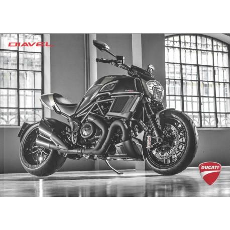 Catalogue original DUCATI DIAVEL 1200 cc de 2016