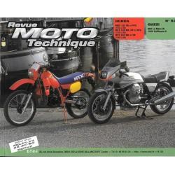 Honda 125 MTX / MBX (83/86) - Guzzi 850 / 1000 (RMT 53)