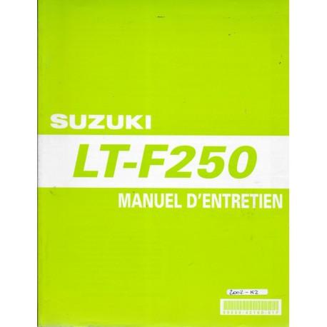 SUZUKI LT-F 250 K2 modèle 2002 (01 / 2002)