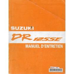 Manuel atelier SUZUKI DR 125 SE (de 1994 à 2000 inclus)