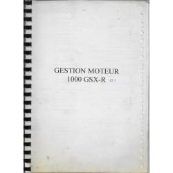 Document interne SUZUKI GSX-R 1000 supposée 2001