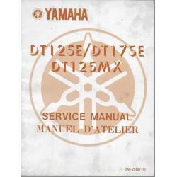 YAMAHA DT 125 MX 2A8
