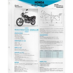 HONDA CB 250 Two-Fifty (1994) Fiche RMT