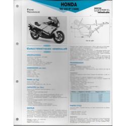 HONDA NS 400 R (1985) Fiche RMT