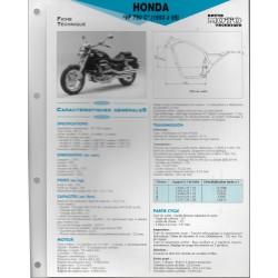 HONDA VF 750 C (1993 à 1995) Fiche RMT