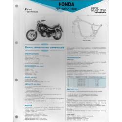 HONDA VF 1100 C (1983) Fiche RMT
