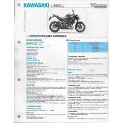 KAWASAKI Z 800 (2013) (Fiche RMT)