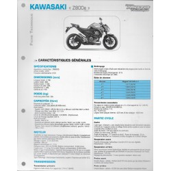 KAWASAKI Z 800e (2013) (Fiche RMT)
