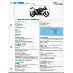 SUZUKI GSX-R 750 L1de 2011 (Fiche RMT)