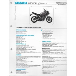"YAMAHA MT09TRA ""Tracer"" (2015) type 2SC2 (Fiche RMT)"