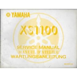 YAMAHA XS 1100 type 2H9 (manuel atelier 01 / 1978)