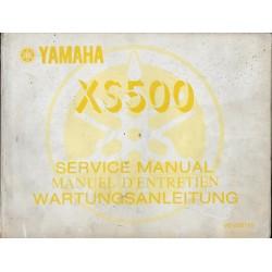 Manuel atelier YAMAHA XS 500 de 1976 (01 / 1976)
