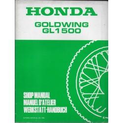 HONDA Gold Wing GL 1500 (Additif de décembre 1988)