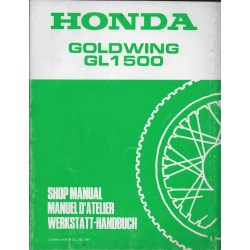HONDA Gold Wing GL 1500 (L) (Additif de novembre 1989)